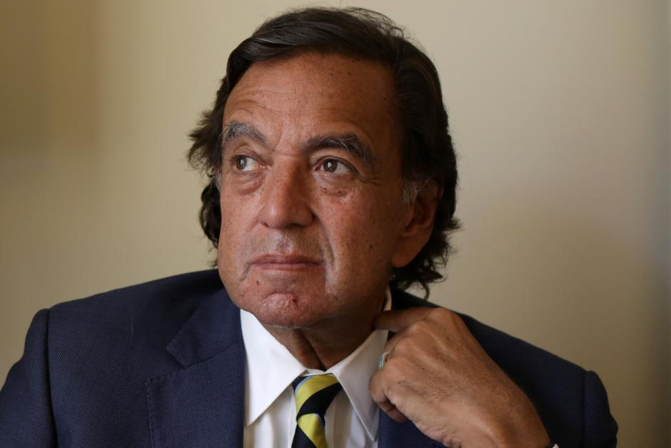 Former New Mexico governor Bill Richardson pauses during an interview with Reuters as a member of an international advisory board on the crisis of Rakhine state in Yangon, Myanmar January 24, 2018. REUTERS/Ann Wang