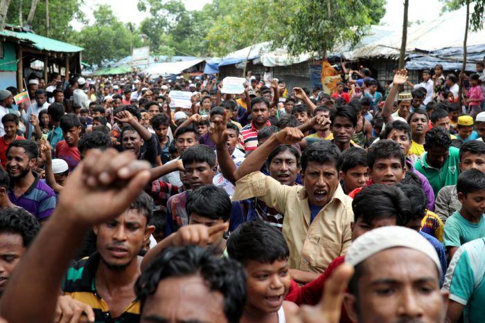 cox's bazar protest